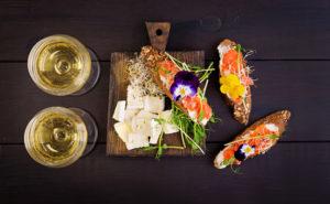 Choisir le vin avec le saumon