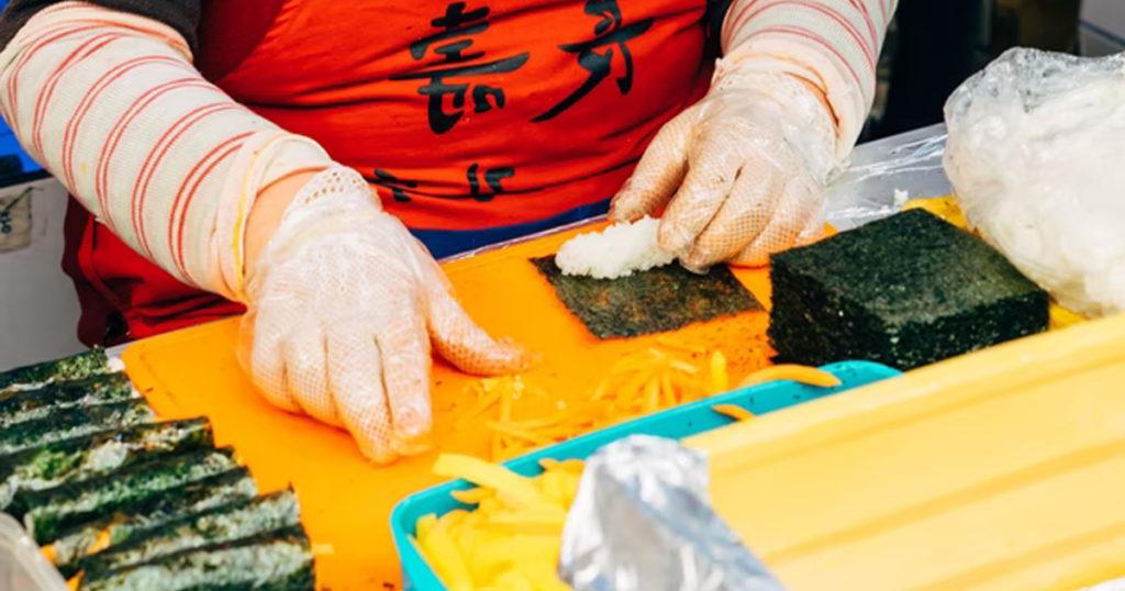 Prépaprer les sushis maison